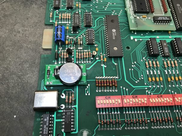 Gottlieb System 80 battery board